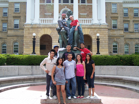 Members of Chicago Posse 7