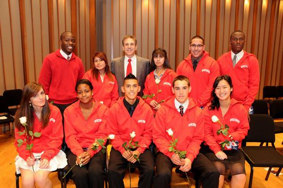Members of LA Posse 8