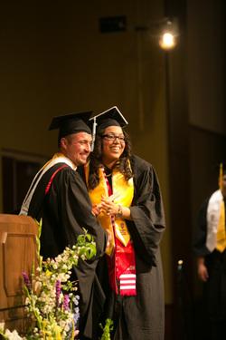 Graduating Posse Member